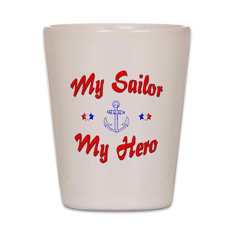 My Sailor My Hero Shot Glass