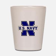 U S Navy Shot Glass