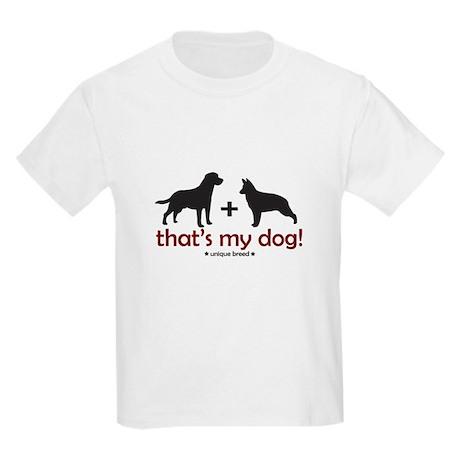 Lab/Shepherd Kids T-Shirt