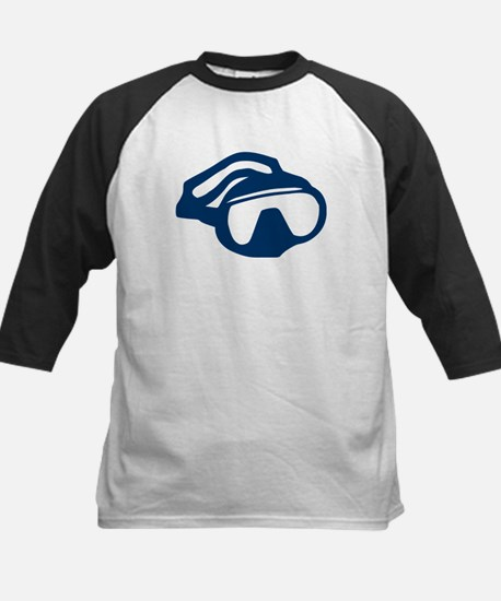 Diving - Goggles Kids Baseball Jersey