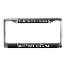 BassFishin.Com License Plate Frame