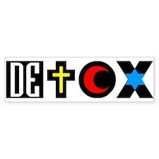 DETOX Bumper Bumper Sticker