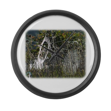Spider webs 9R030D-012 Large Wall Clock