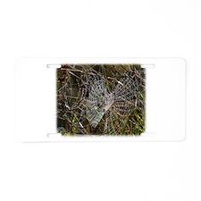 Spiders web 9R030D-010 Aluminum License Plate
