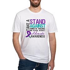 Take A Stand Teal & Purple Shirt