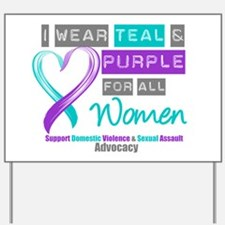 Support All Women Yard Sign