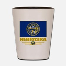 Nebraska Pride Shot Glass