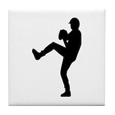 Baseball - Pitcher Tile Coaster