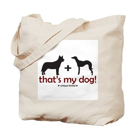 Cattle Dog/Whippet Tote Bag