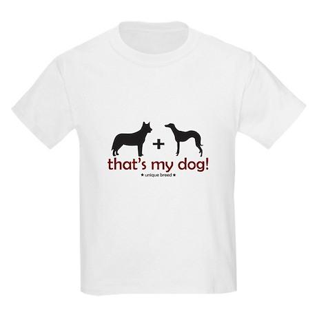 Cattle Dog/Whippet Kids T-Shirt