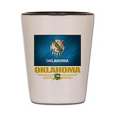 Oklahoma Pride Shot Glass