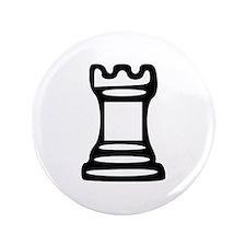 """Chess - Castle 3.5"""" Button"""