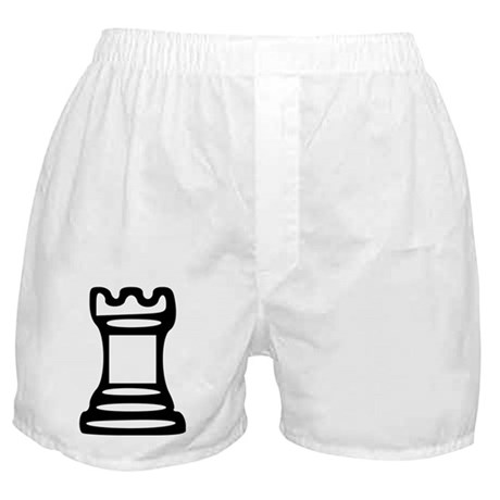 Chess - Castle Boxer Shorts