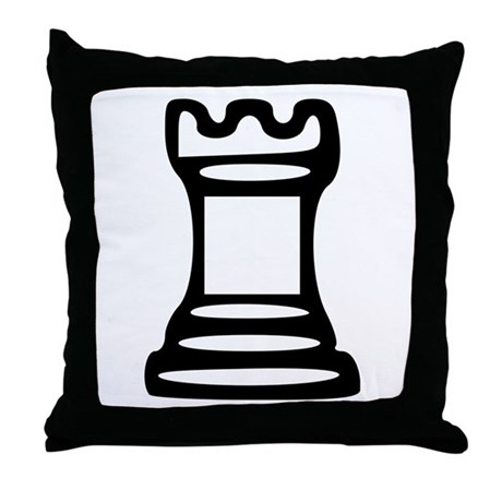 Chess - Castle Throw Pillow