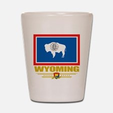 Wyoming Pride Shot Glass