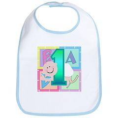 Baby is One 1st Birthday Bib