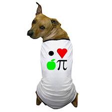 I Heart Apple Pie I Love Appl Dog T-Shirt