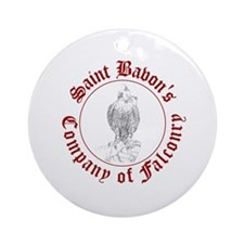 SCA falconry logo Ornament (Round)