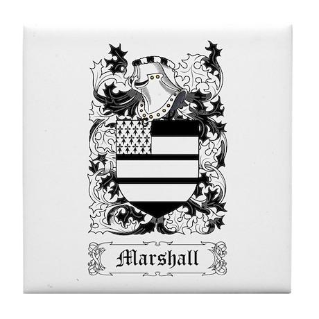 Marshall II Tile Coaster