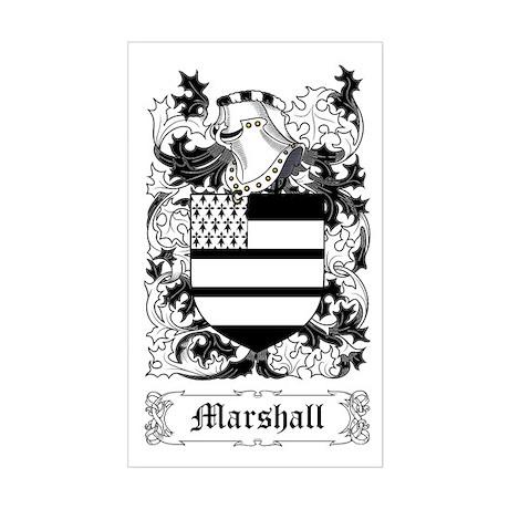 Marshall II Sticker (Rectangle)