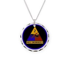 2nd Armored Division Necklace