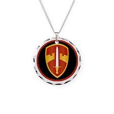 MACV Necklace Circle Charm
