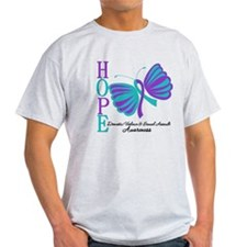Hope Butterfly Teal&Purple T-Shirt