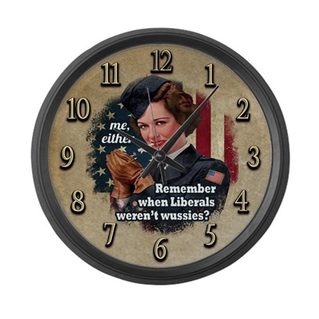 Remember When? Large Wall Clock