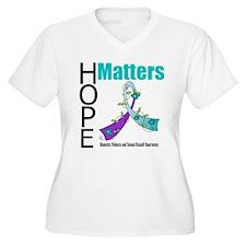 Hope Matters Purple&Teal T-Shirt