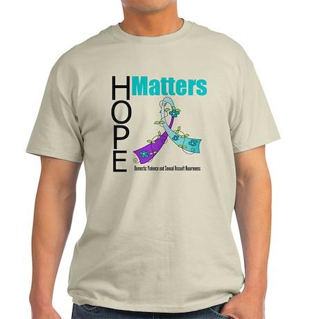 Hope Matters Purple&Teal Light T-Shirt