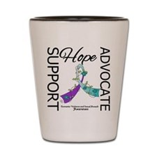 Hope Support Advocate Shot Glass