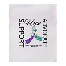 Hope Support Advocate Throw Blanket