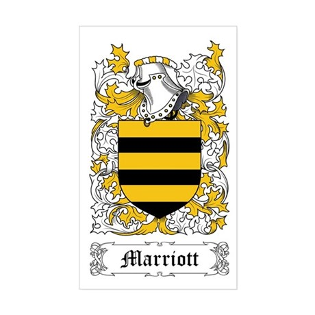 Marriott Sticker (Rectangle)