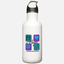 Hope Inspire Tiles Water Bottle