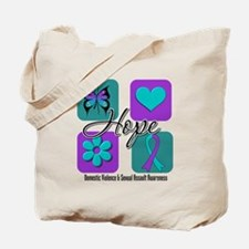 Hope Inspire Tiles Tote Bag