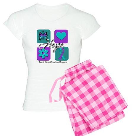 Hope Inspire Tiles Women's Light Pajamas