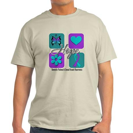 Hope Inspire Tiles Light T-Shirt