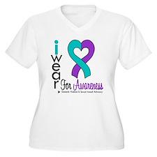 I Wear Purple & Teal T-Shirt