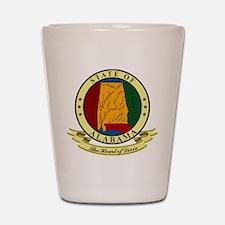Alabama Seal Shot Glass