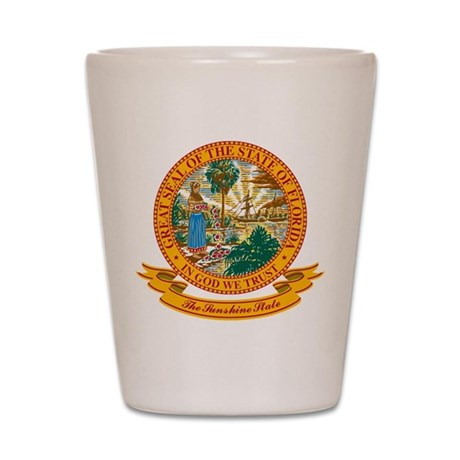 Florida Seal Shot Glass