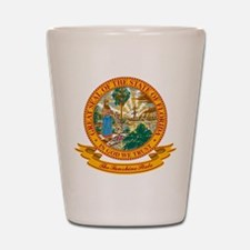Florida Seal Shot Glass