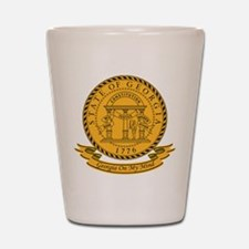 Georgia Seal Shot Glass