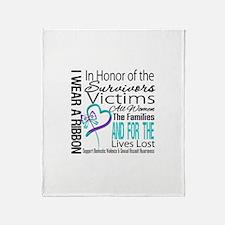 In Honor Ribbon Throw Blanket