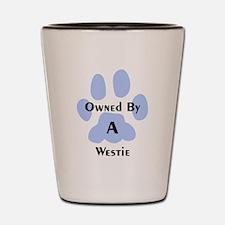 Unique Unique west highland terrier Shot Glass