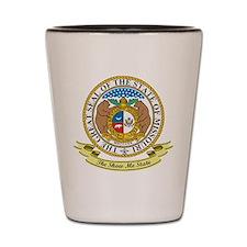 Missouri Seal Shot Glass
