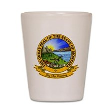 Montana Seal Shot Glass