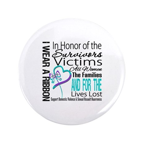 """In Honor Ribbon 3.5"""" Button (100 pack)"""