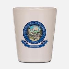 Nevada Seal Shot Glass