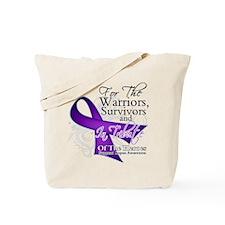 Lupus Ribbon Tribute Tote Bag