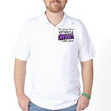 Not Going Down - Lupus T-Shirt